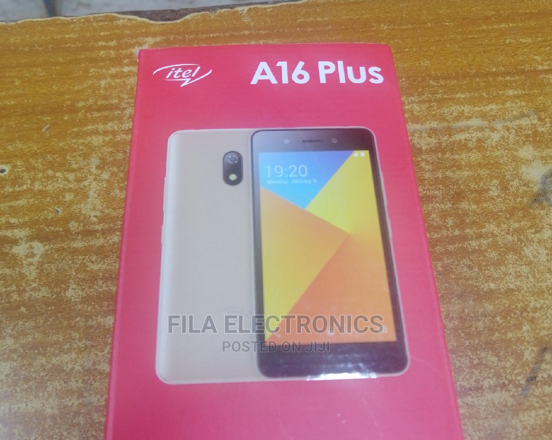 New Itel A16 8 GB Black