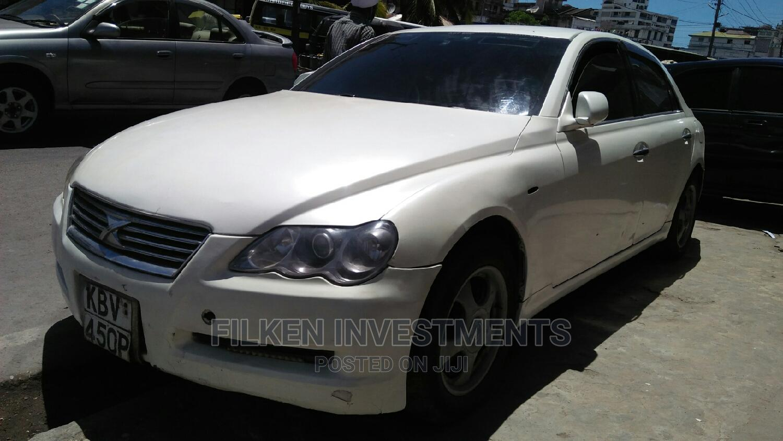 Toyota Mark X 2009 White   Cars for sale in Ganjoni, Mombasa, Kenya