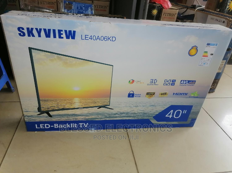 Skyview 40 Inch Smart Android Led Tv | TV & DVD Equipment for sale in Nairobi Central, Nairobi, Kenya
