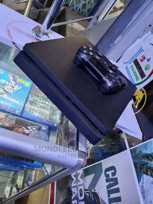 Clean Playstation4 Slim With One Controller   Video Game Consoles for sale in Nairobi, Nairobi Central