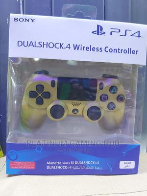 Gold Dual Shock Wireless Ps4 Controller   Video Game Consoles for sale in Nairobi, Nairobi Central
