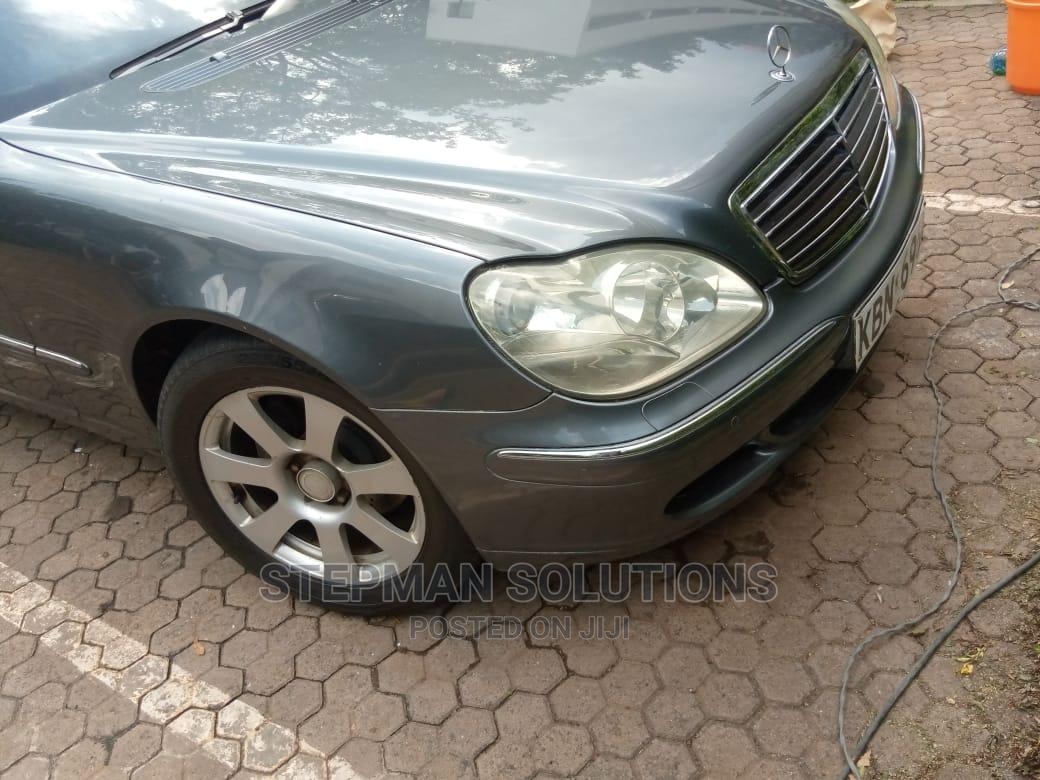 Archive: Mercedes-Benz S Class 2005 Gray
