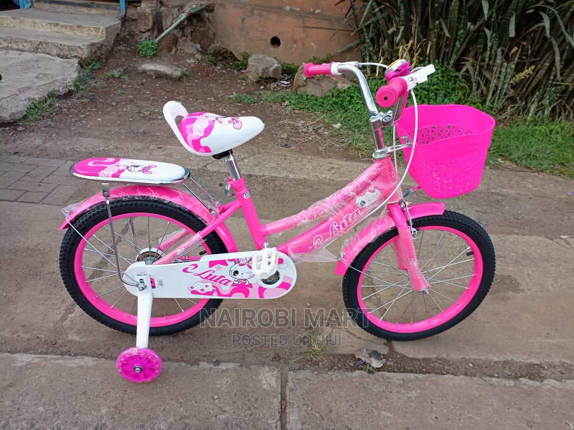 New Pink Bicycle Size 18