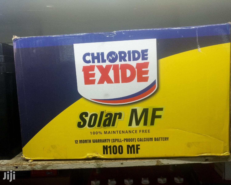 Battery Chloride Exide