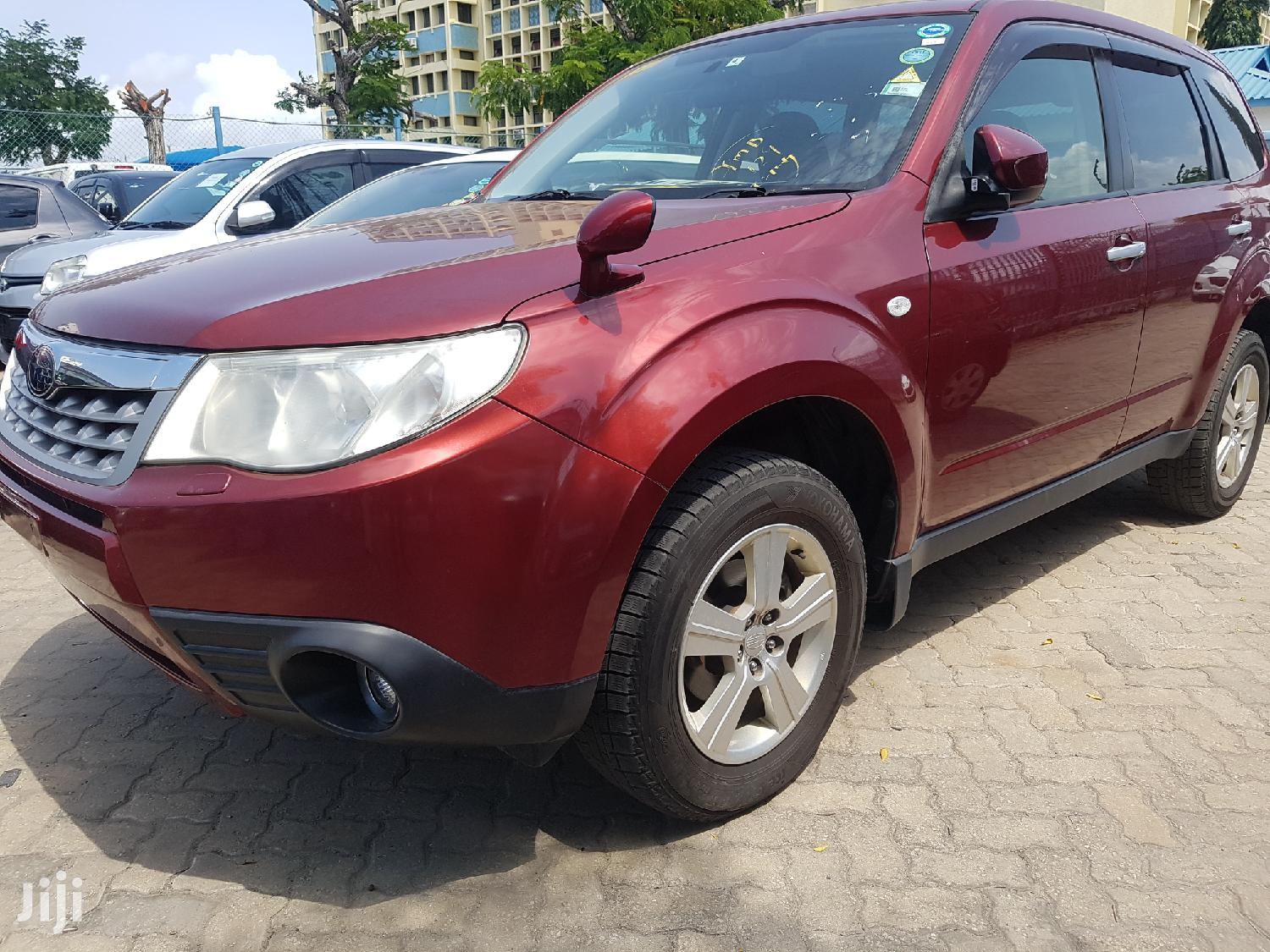 Subaru Forester 2012 Red