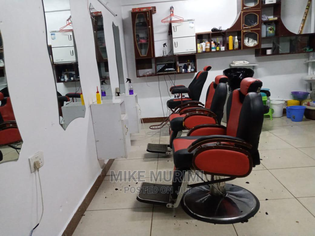 Barber Shop In Thika Town