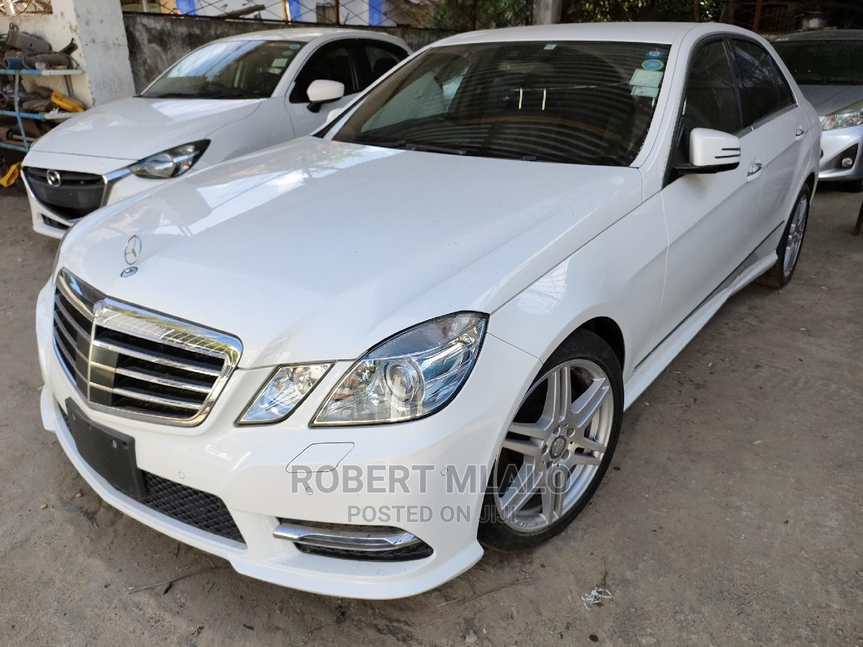 Mercedes-Benz E250 2013 White | Cars for sale in Ganjoni, Mombasa, Kenya