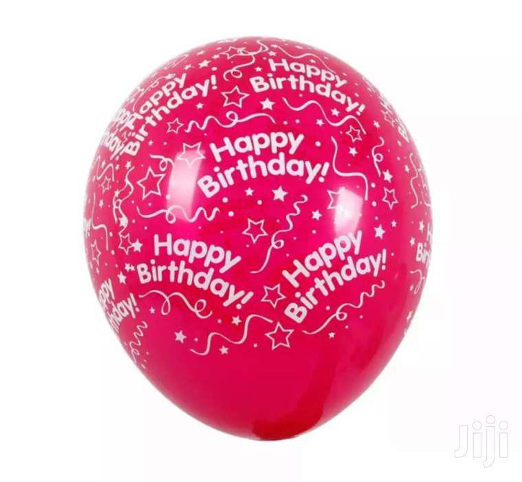 Archive: Birthday Helium Baloons
