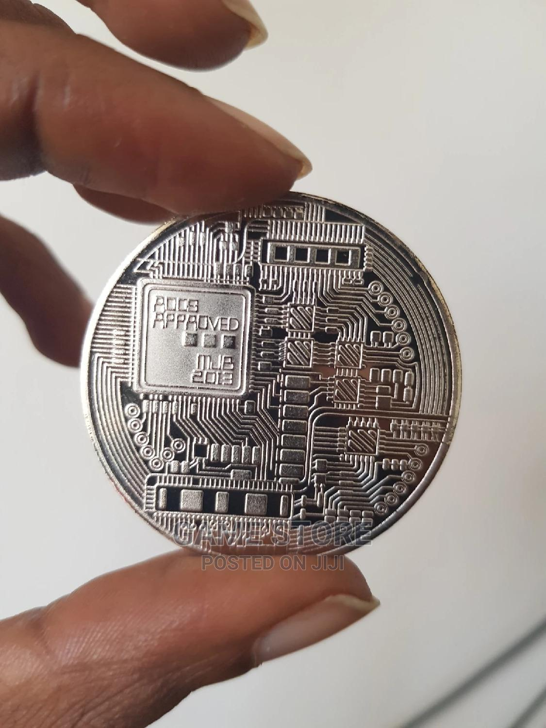 Bitcoin Copper Coin (Silver) | Arts & Crafts for sale in Nairobi Central, Nairobi, Kenya