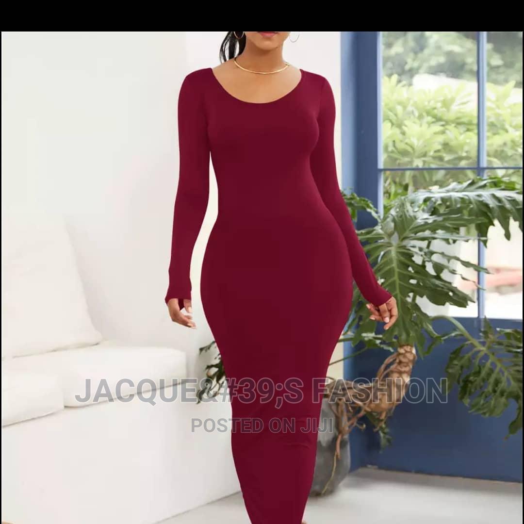 Long Sleeved Maxi Dress at 1000/= | Clothing for sale in Nairobi Central, Nairobi, Kenya