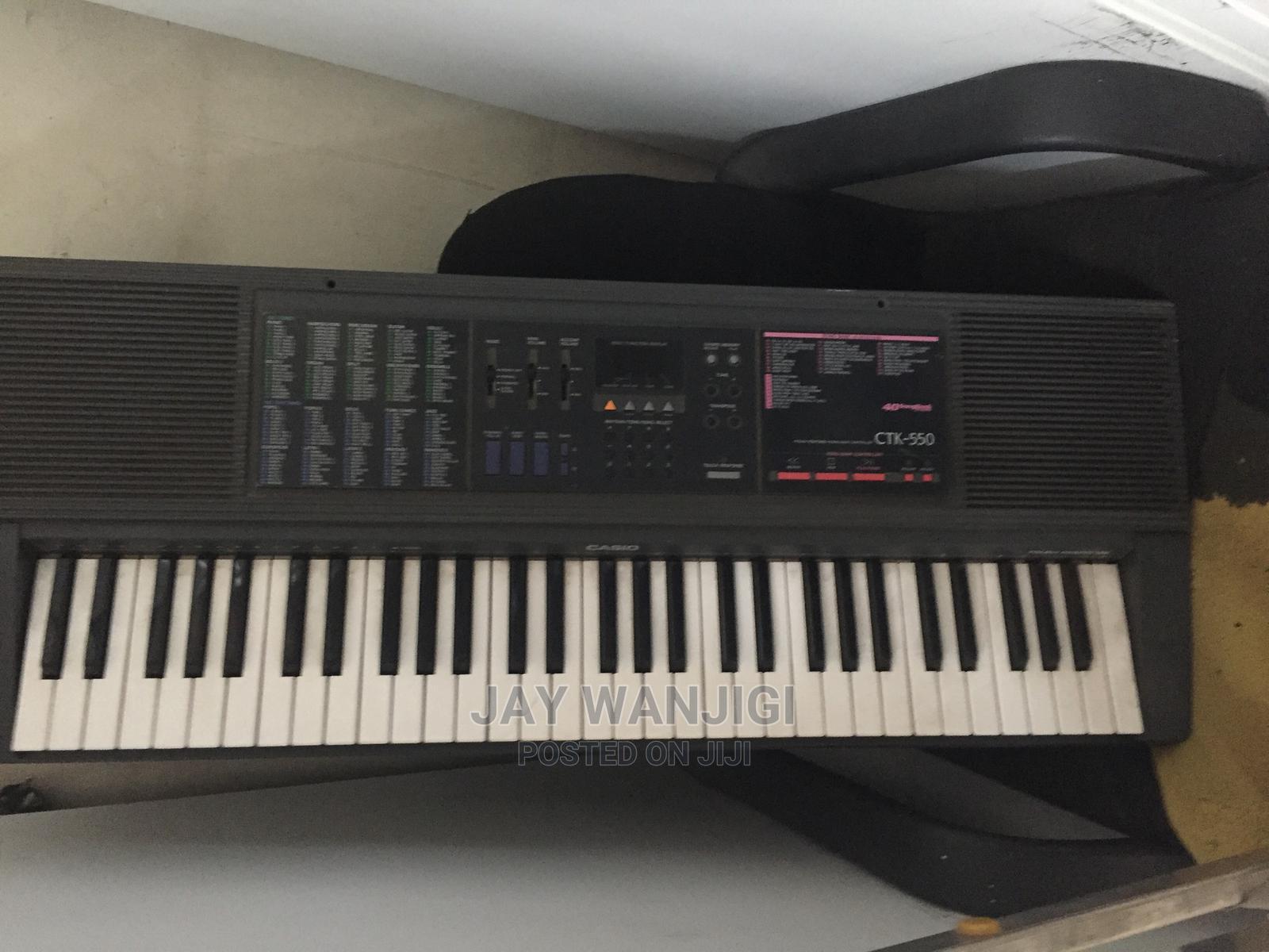 Casio CTK-550 Electronic Piano Keyboard 61 Keys