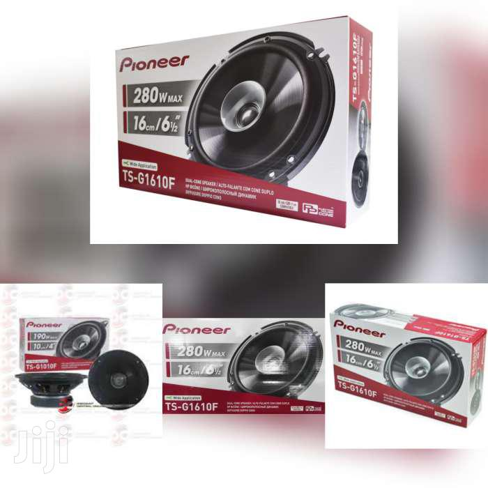 Archive: 280 WATTS PIONEER TS-G1610F 6 INCH SPEAKERS