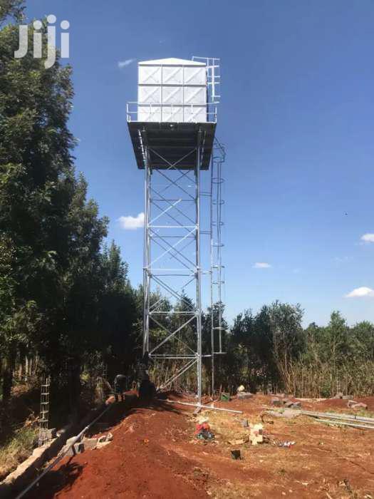 Steel Tank Tower Metal Tank Tower