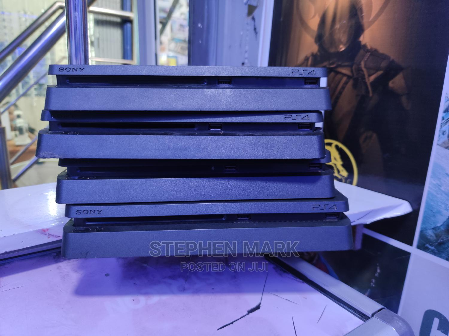 Archive: Playstation 4 Slim 500GB With Slight Used