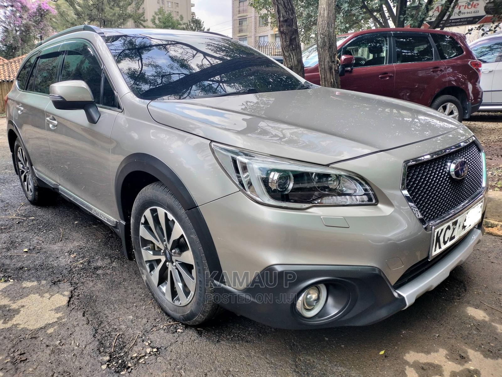 Subaru Outback 2015 Gold
