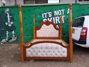 5 by 6 Modern Bed With Stands   Furniture for sale in Nairobi, Kahawa