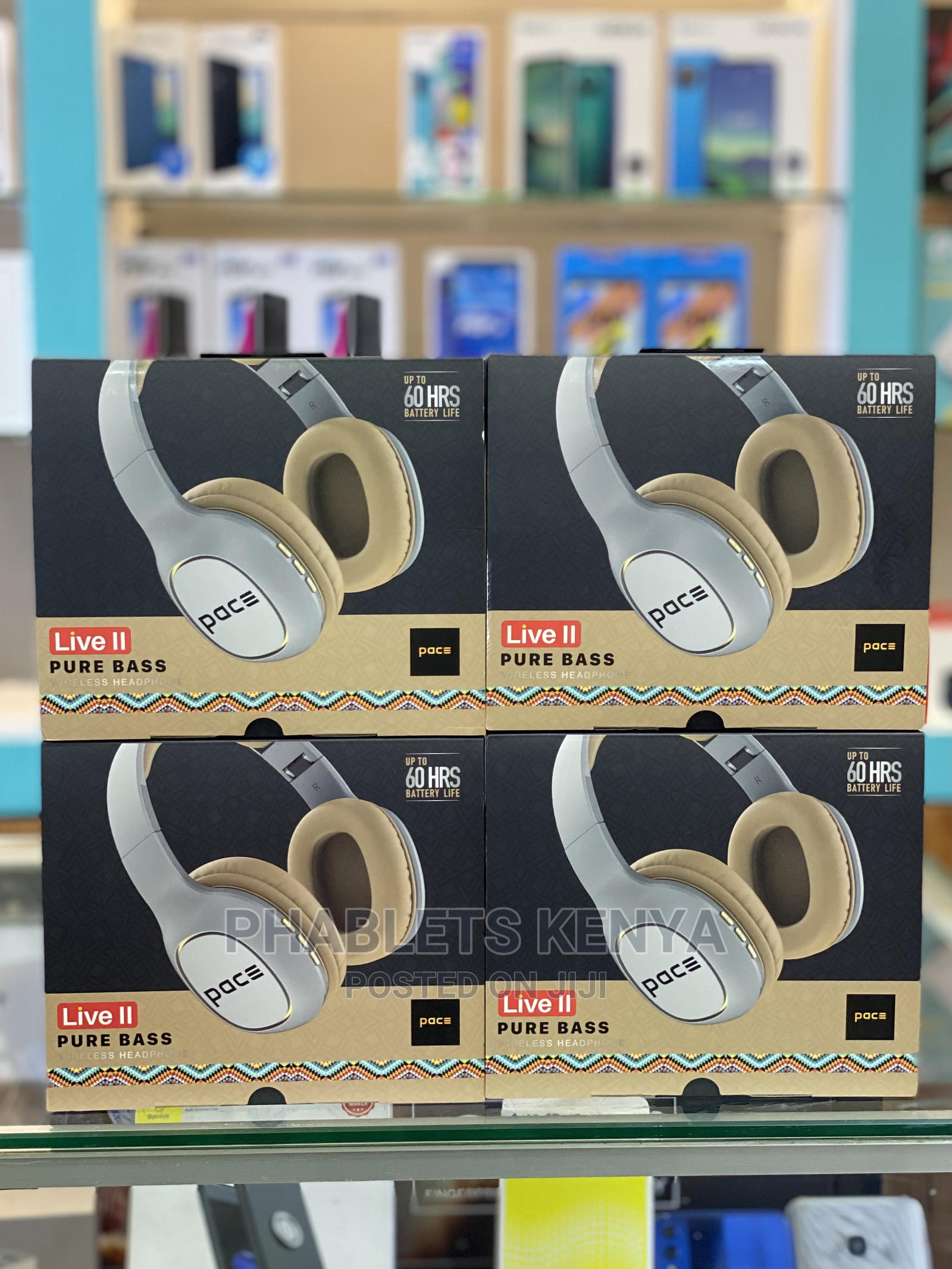 Pace Live II Wireless Bluetooth Headphones