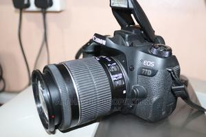 Canon EOS 77D DSLR Camera With 18-55mm Lens   Photo & Video Cameras for sale in Meru, Municipality