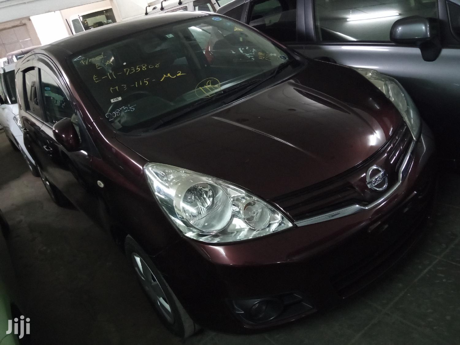 Nissan Note 2012 1.4 Red | Cars for sale in Tudor, Mombasa, Kenya