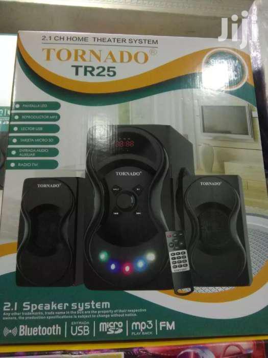 Tornado Home Theater System With Bluetooth FM Radio USB SD Card Slot