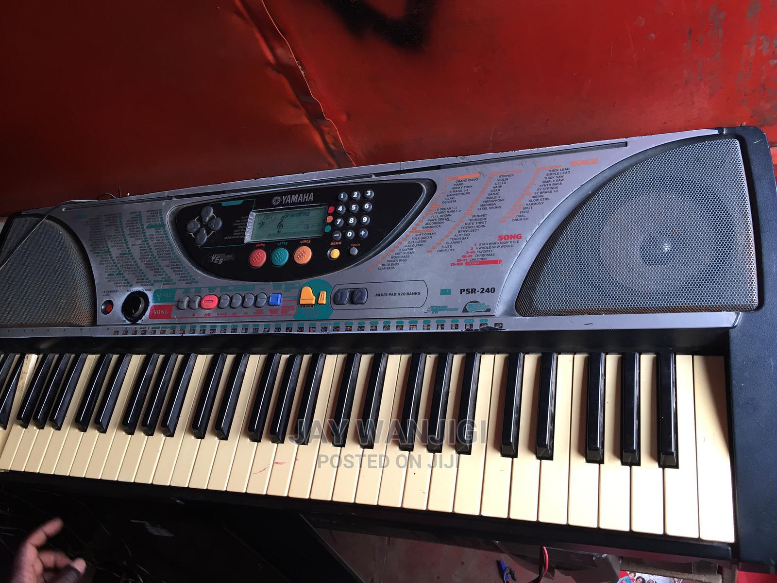 Yamaha PSR-240 61-Key Portable Electronic Keyboard | Musical Instruments & Gear for sale in Nairobi Central, Nairobi, Kenya