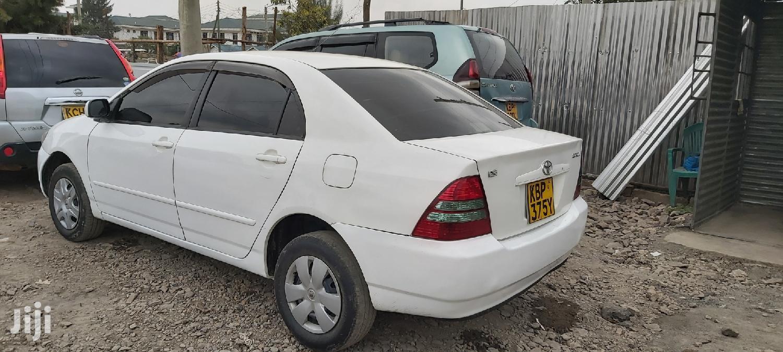 Archive: Toyota Corolla 2004 White