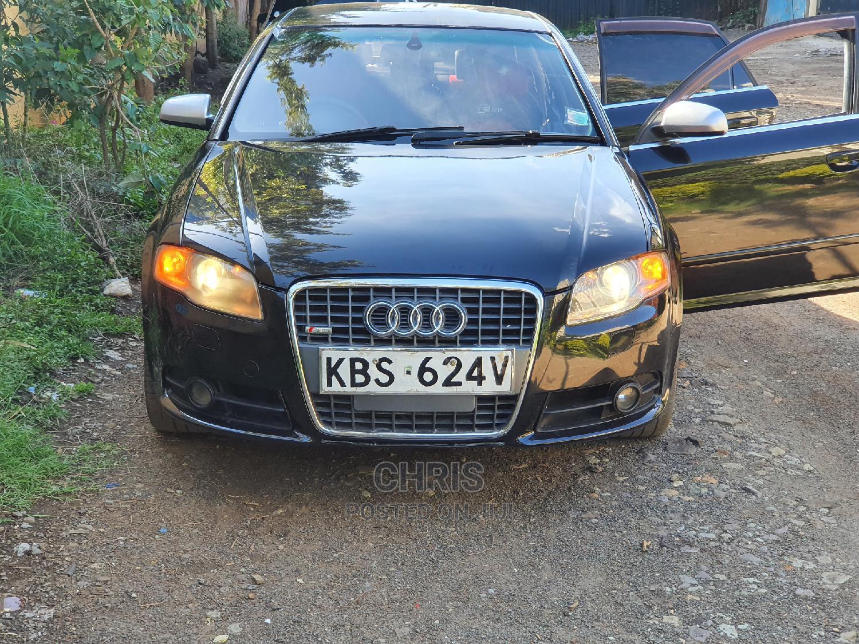 Audi A4 2008 2.0 Black