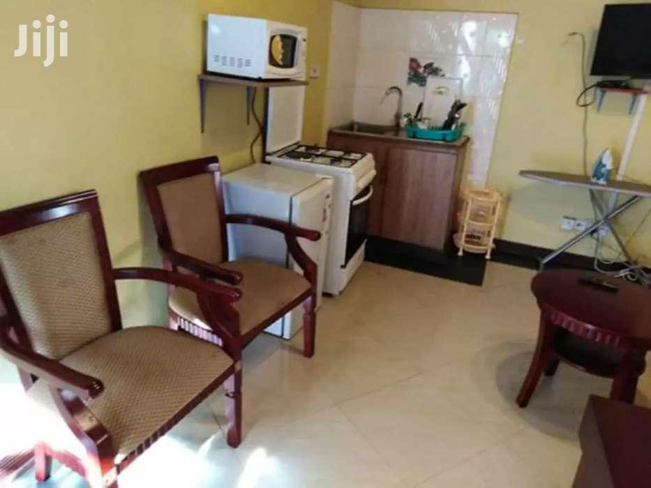 Archive: Spacious Studio Fully Furnished Apartment To Let In Kilimani