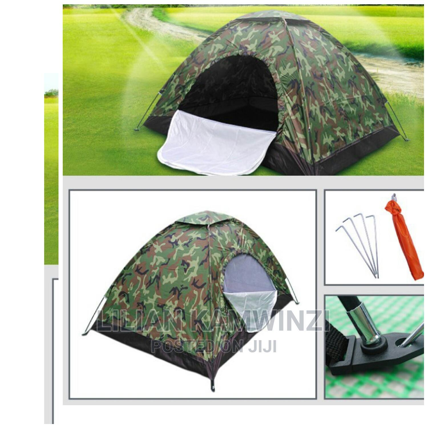 6 People Outdoor Camping Tent