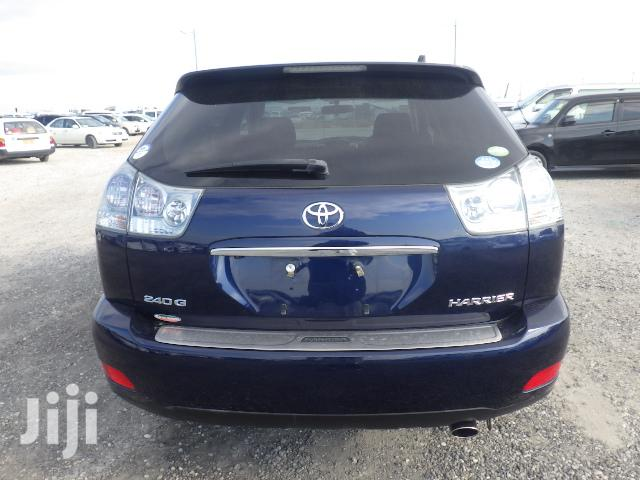 Archive: Toyota Harrier 2012 Blue