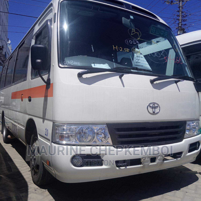 Toyota Coaster 2014 White | Buses & Microbuses for sale in Mombasa CBD, Mombasa, Kenya