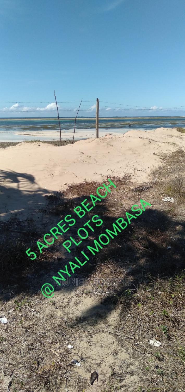 Nyali - 5 Acres Beach Plot for Sale