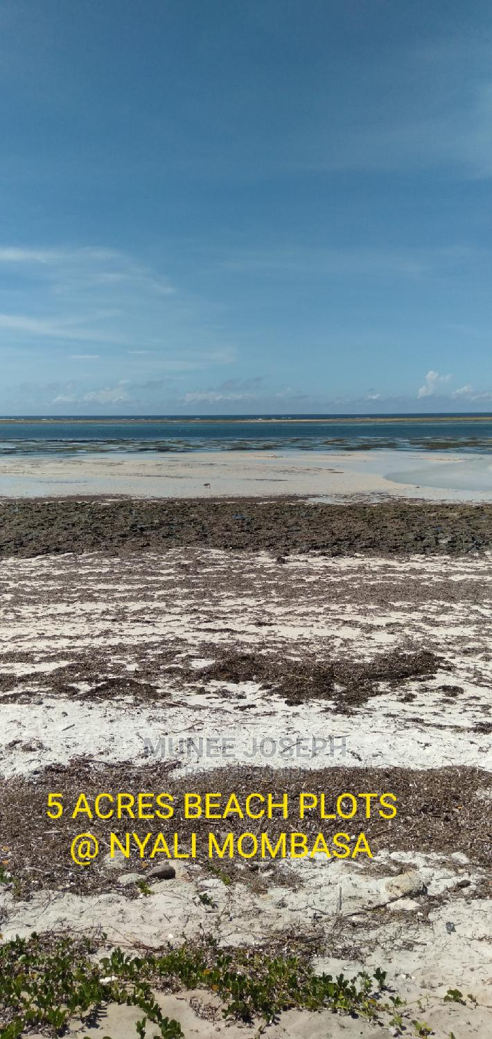 Nyali - 5 Acres Beach Plot for Sale | Commercial Property For Sale for sale in Nyali, Mombasa, Kenya