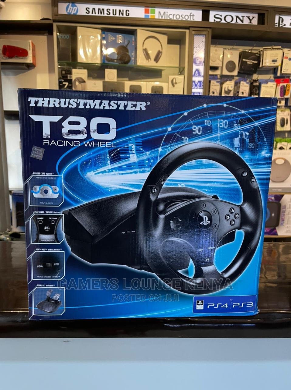 Thrustmaster Racing Games Controllers T80 Steering Wheel