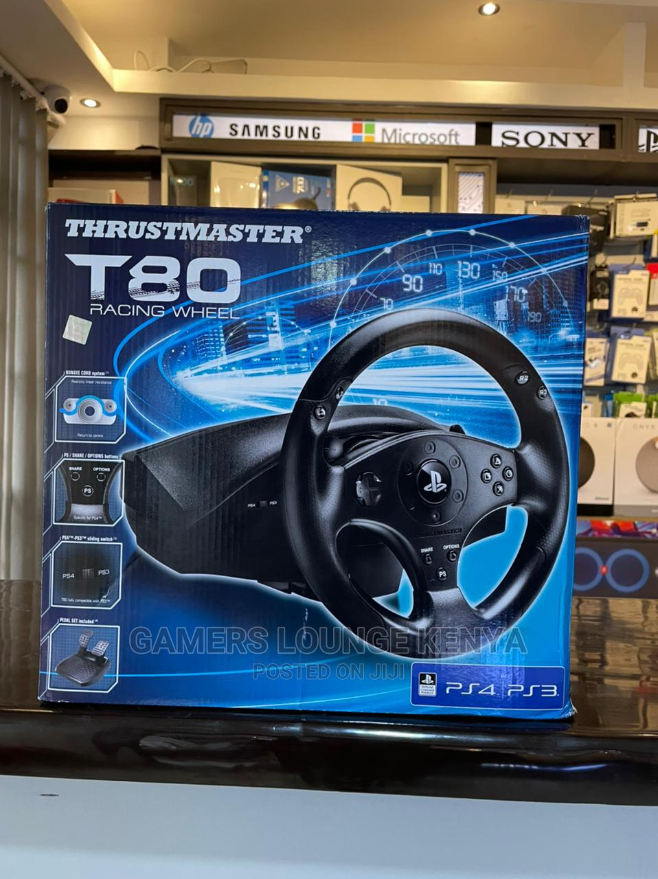 Thrustmaster Racing Games Controllers T80 Steering Wheel | Video Game Consoles for sale in Nairobi Central, Nairobi, Kenya