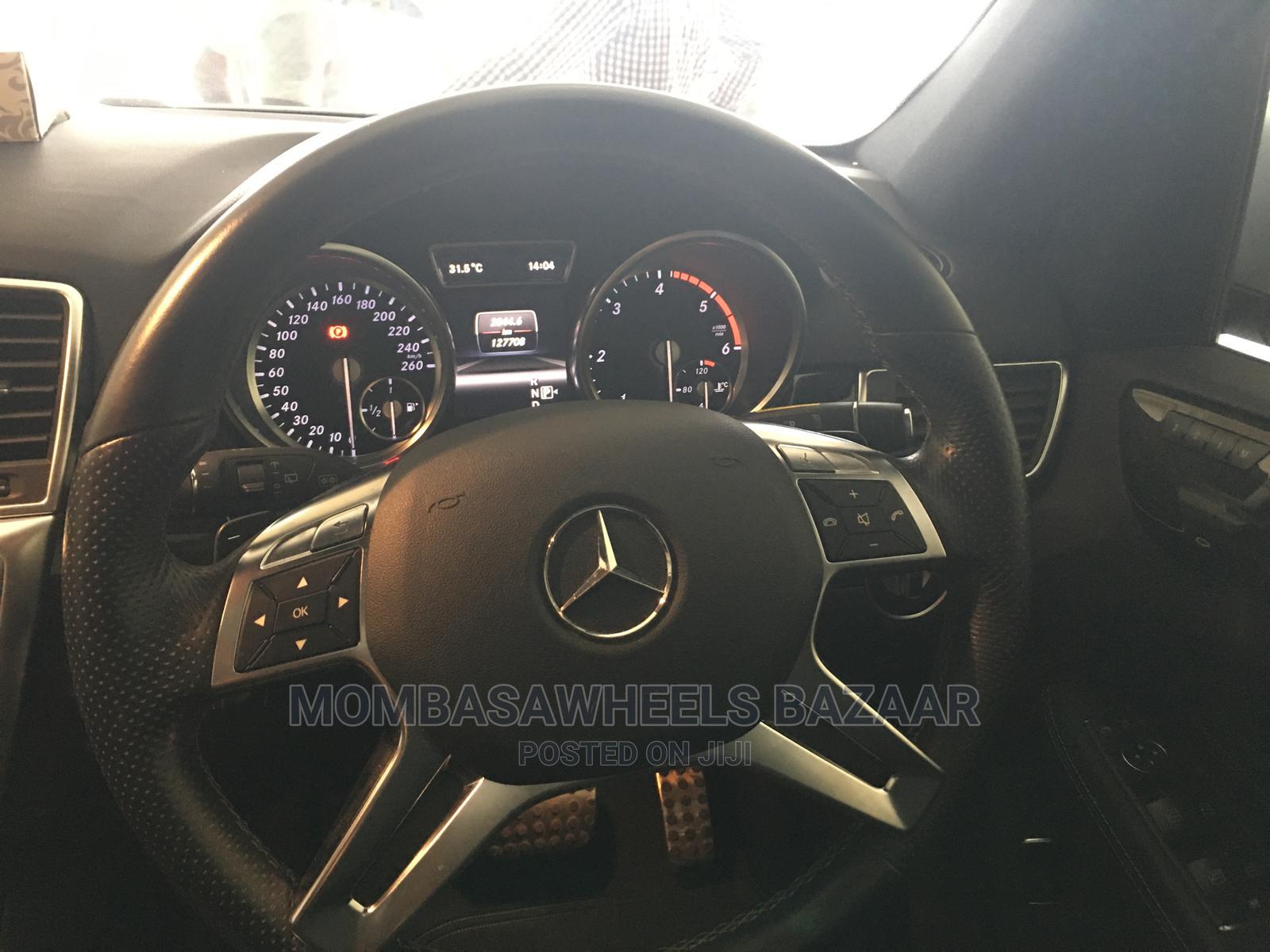 Mercedes-Benz M Class 2014 Silver   Cars for sale in Ganjoni, Mombasa, Kenya