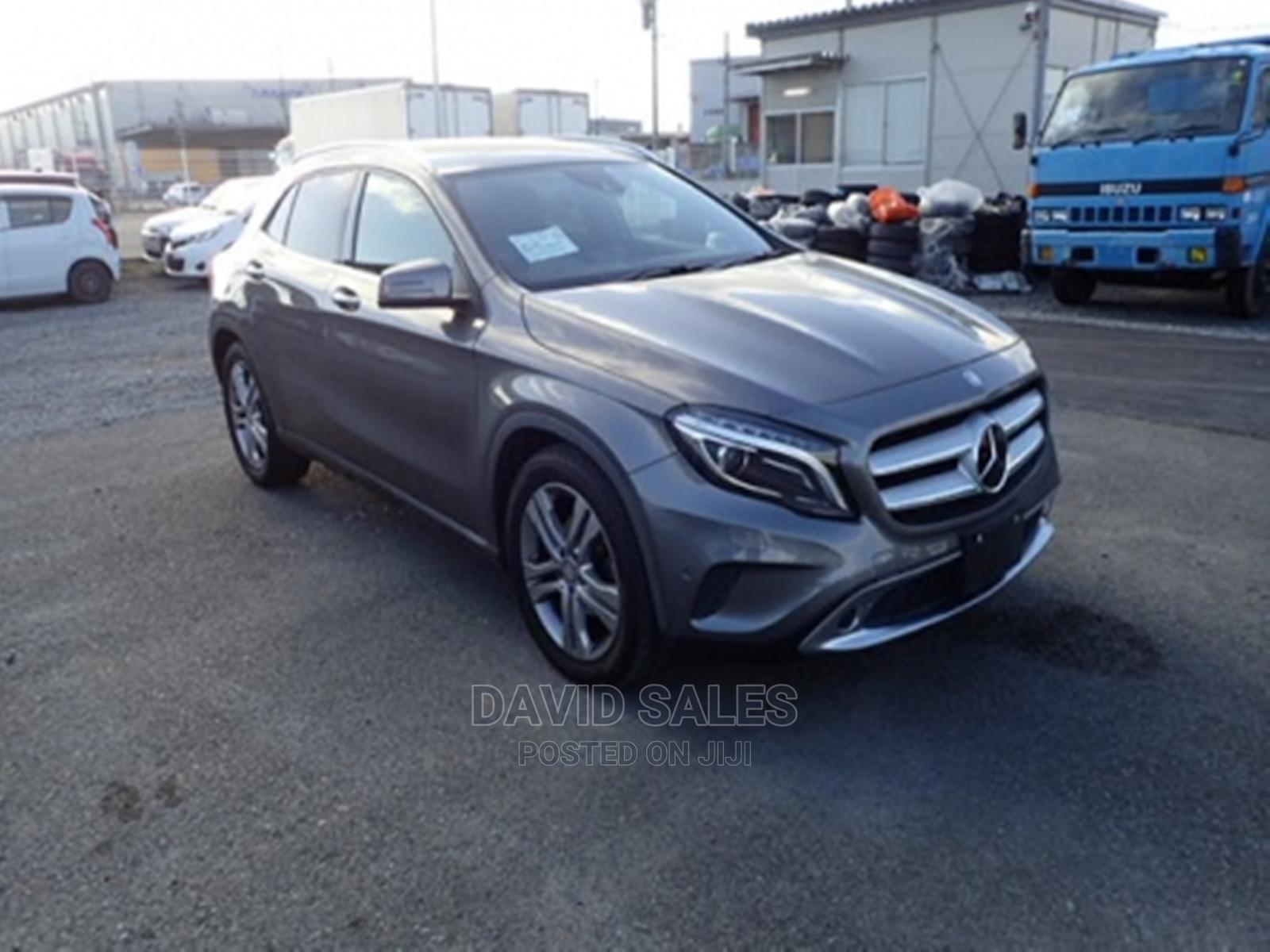 Mercedes-Benz GLA-Class 2014 Gray