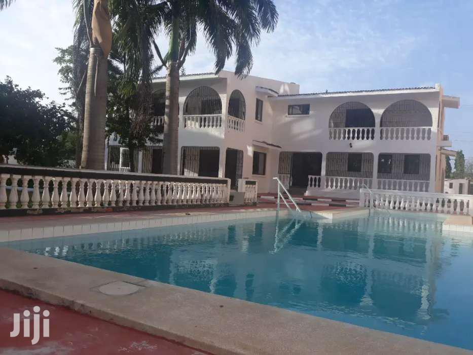 NYALI- 4 Bedroom HOUSE OWN COMPOUND With SWIMMING POOL On HALF ACRE