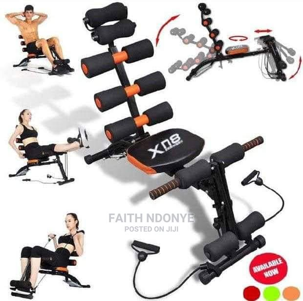 6 Pack Bench With Pedals