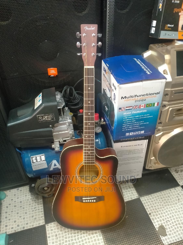 New Fender Semi Acoustic Guitar