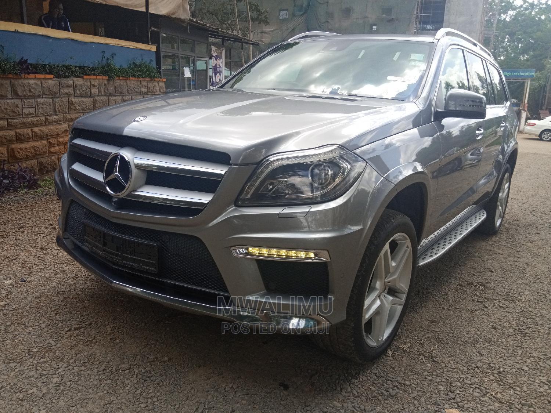 Archive: Mercedes-Benz GL Class 2014 Gray
