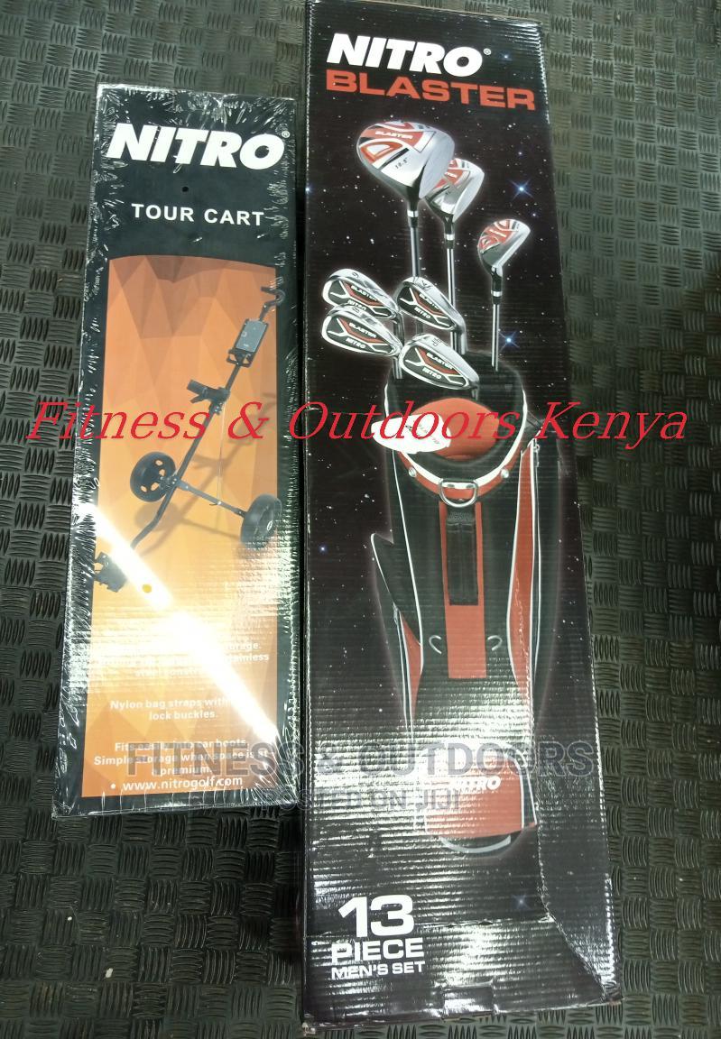 Sale!! Nitro Golf Kit + Trolley