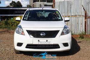 Nissan Latio 2014 1.2 White | Cars for sale in Nairobi, Ridgeways