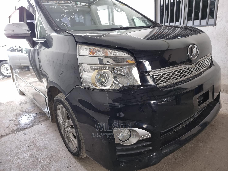 Toyota Voxy 2014 Black   Cars for sale in Ganjoni, Mombasa, Kenya