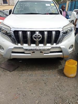 Toyota Land Cruiser Prado 2014 White   Cars for sale in Mombasa, Ganjoni
