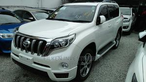 Toyota Land Cruiser Prado 2015 White | Cars for sale in Mombasa, Ganjoni
