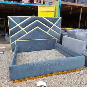 5 by 6 Modern Bed | Furniture for sale in Nairobi, Kahawa