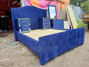 Modern Bed 5 by 6   Furniture for sale in Nairobi, Kahawa