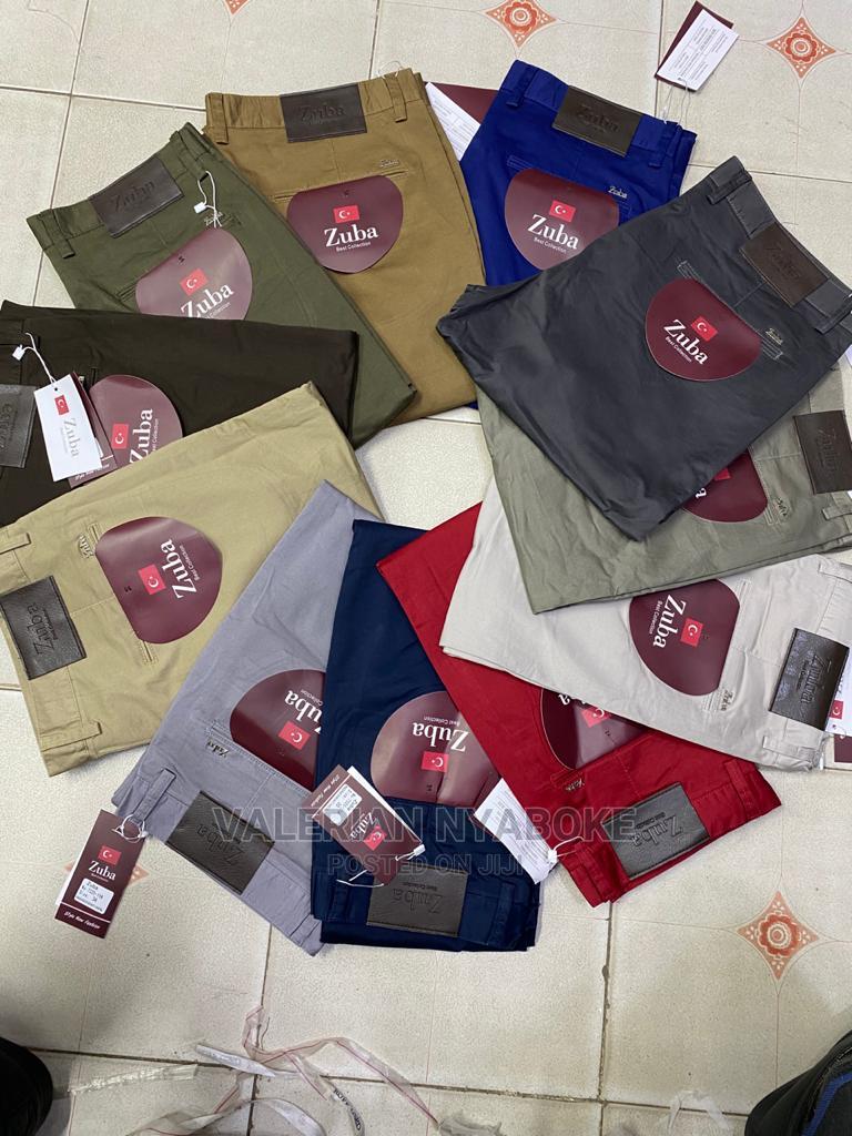 Zuba Khaki Trousers Available