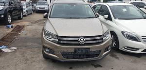 Volkswagen Tiguan 2014 Gold   Cars for sale in Mombasa, Mombasa CBD